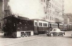 Il Gamba de Legn in Piazza Piemonte, fine anni '40 o primi anni '50