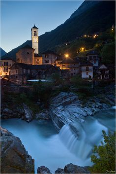 Lavertezzo, Beautiful little Village in Ticino, Switzerland