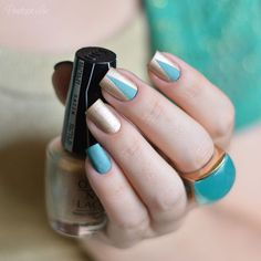 Love Angel Music Baby by OPI + Ilf by ManGlaze
