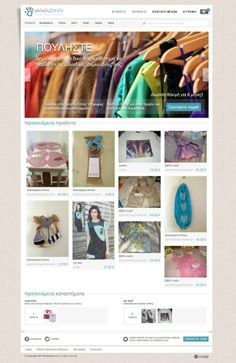 Handideas web application for sales and purchases of handmade goods