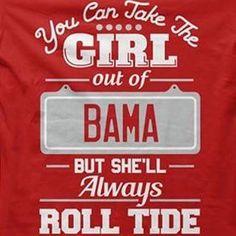 Exactly!! Bama girl in Ohio!! Ayeeee!!!