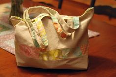 Linen Tote Bag Tutorial