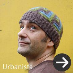 free Urbanista Hat knitting pattern