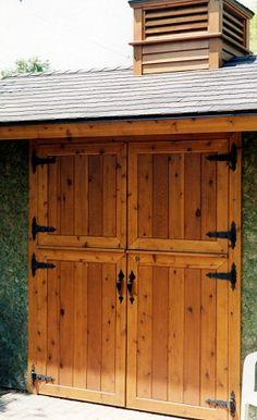 dutch doors for workshop!