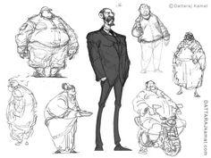 DATTARAJ KAMAT Animation art