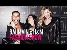Watch BALMAIN x H&M Fashion Runway Show (Full HD) | MODTV - YouTube