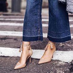 Nude pumps are the   @winstonandwillow #fashion #fashionblog #fashionblogger #blog #blogger #ootd #streetstyle #stylediary #style #stylish #fashiongram #fashioninspiration #travel #travelblogger #travelphotography #traveling #travelgram #traveller #wanderlust #jetsetter #closet #wardrobe #shoes #shoestagram #heels #pumps #jeans #denim by shopsboom. ootd #fashionblog #denim #travel #shoes #travelblogger #shoestagram #traveller #heels #streetstyle #stylish #jetsetter #traveling…