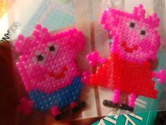 Peppa y George Pig (imanes)