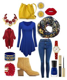 """""""✨💋"""" by mari-brown-i on Polyvore featuring MANGO, WithChic, Topshop, Alexander Wang, Halcyon Days, Lancaster, Lime Crime, Chanel and Johnny Loves Rosie"""