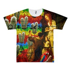 AND THIS, IS THE RAINBOW BRUSH CACTUS. II Tee