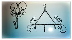 Krokpärla Luffarslöjd: Två nya krokar All The Small Things, Wire Crafts, Wire Art, Dragonflies, Crochet Flowers, Handmade, Diy, Home Decor, Wire