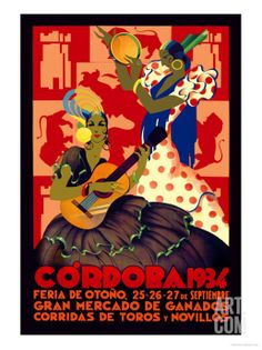 Cordoba, Feria de Otono Premium Poster by Gertrude Leooley at Art.com
