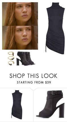 """""""Davina Claire - The originals"""" by shadyannon ❤ liked on Polyvore featuring Pierre Balmain, Charlotte Russe and Noir Jewelry"""