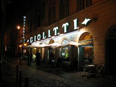 giolitti, rome, italy  MY FAVORITE PLACE IN THE WORLD