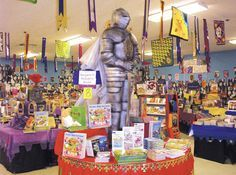 Book Fair Display Tables