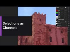 (152) Storing Channels as Selections (Affinity Photo iPad) - YouTube