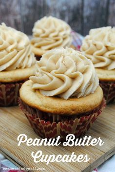 Peanut Butter Cupcakes   Adventures of Country Divas