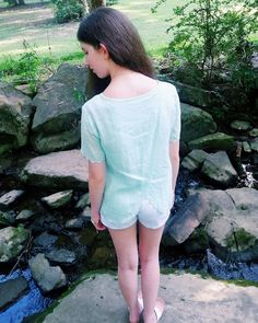 Fashion:  Scalloped Back (Collab) -- Prep For A Day