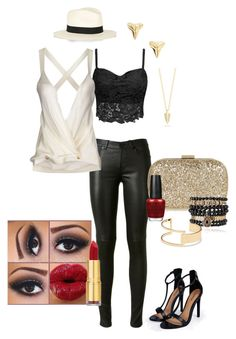 """Goldie Girl"" by awebb0404 on Polyvore"
