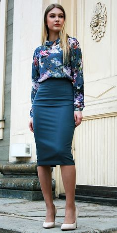 Business casual for women casual work outfits for women summer work outfits Fashion Mode, Work Fashion, Fashion Outfits, Woman Outfits, Womens Fashion, Formal Business Attire, Business Casual, Business Professional, Business Skirts