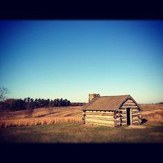 November 23: Log Cabin, Valley Forge Park