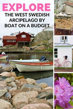 Want to explore the west Swedish archipelago on a budget but not sure how to do it? Find great tips on how you can plan your own low cost island hopping vacation in Sweden #swedentravel