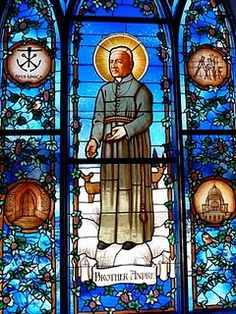 """Br. André Bessette, C.S.C., known as the """"Miracle Man of Montreal,"""" who battled sickness much of his own life, devoted his life to prayer, serving the Lord and comforting the sick and afflicted."""