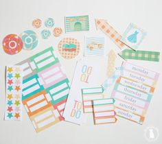 The free planner 2018 is here! Over 200 files of customize-able goodness in amazing colorful fun to plan your year. Everything you need is here for all of your 2018 planning. 2018 Planner, Free Planner, Happy Planner, Printable Planner, Planner Stickers, Planner Ideas, Free Printables, Organizing Paperwork, Binder Organization