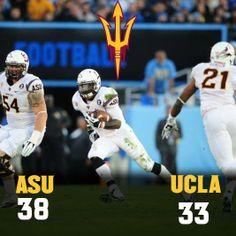 ASU defeats UCLA at the Rose Bowl!
