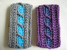 Ravelry: Quick and easy crochet bracelet pattern by Judith Aguilar Tutorial ༺✿ƬⱤღ  http://www.pinterest.com/teretegui/✿༻