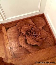 Liven up a plain staircase landing, Paint With Stain: Staircase Landing Makeover, staircase makeover