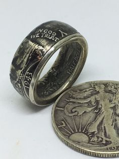 Morgan Coin Rings The Crown Jewel of Silver Dollars Coin Rings sizes 8 to 15