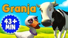 Las Canciones de la Granja Enganchado. LO MEJOR DE GRANJA 1 y 2 EN HD 01. Los Seis Patitos 02. El Gallo y la Pata 03. La Vaca Lola 04. La Gallina Turuleca 05...