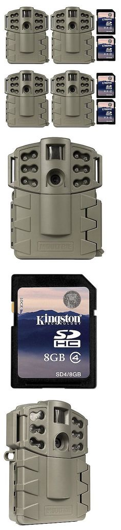 Game and Trail Cameras 52505: (4) Moultrie Game Spy A-5 Gen2 Low Glow Ir 5 Mp Digital Game Cameras + Sd Cards -> BUY IT NOW ONLY: $249.99 on eBay!