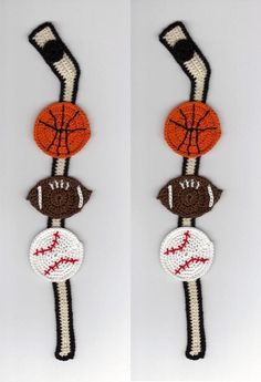 Looking for crocheting project inspiration? Check out Sports Themed Thread Crochet Bookmark by member linmariecreations@yahoo.com.