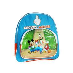 Un très joli petit sac enfant Mickey sous licence originale Disney - Un sac à dos pas cher de taille moyenne pour l'école maternelle et début de primaire  http://www.lamaisontendance.fr/catalogue/petit-sac-enfant-mickey-disney-maternelle/  #sac #école #enfant #mickey #disney