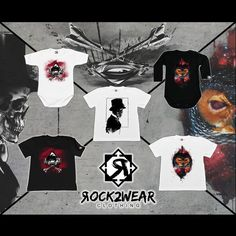 White or black t-shirt, bodysuit, longsleeve with great print on it.  Skull, galactic owl and eye. Must have!