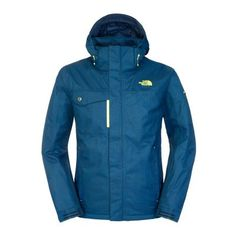 The North Face Men Hickory Pass jacket Cosmic Blue 75d113705392