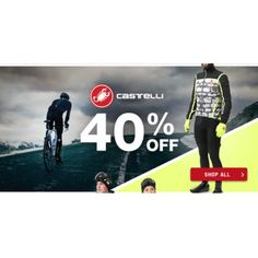 40% OFF Sale on Castelli @ Torpedo 7 - Bargain Bro