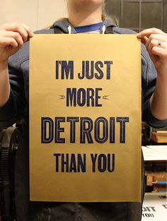 poster printed for Detroit Artists Market upcoming design show