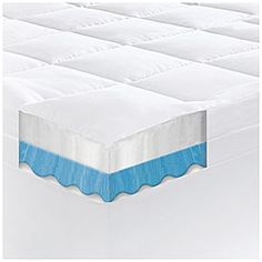 Serta Rest 3 Queen Gel Memory Foam Mattress Topper At Big Lots