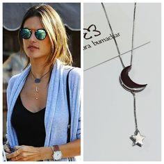 Sucesso o colar ⭐️ #Lua #estrela #mairabumachar #lojapraiadocanto #showroomsp #vilamadalena #pedidosporwhatsapp (11)997440079