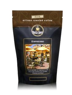 Boca Java Roast to Order, Espresso, Whole Bean, Dark Roast Coffee, 8 oz. bags (Pack of 2) ** Check this awesome item pin  : Fresh Groceries