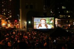 Denver Outdoor Summer Movies!!!  Some of my favorites are here: Willy Wonka, Goonies, Princess Bride, ET... doesnt get much better than that!!!