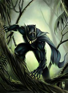#Black #Panther #Fan #Art. (Black Panther) By:MDiPascale. (THE * 5 * STÅR * ÅWARD * OF: * AW YEAH, IT'S MAJOR ÅWESOMENESS!!!™) ÅÅÅ+