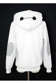 Hoodie Costume Cosplay  Charactor Hooded  Xmas gift Adult  Costume outfit  hoodies Coat Bleach Shirts, Loose Shirts, Loose Tops, Baggy Shirts, Cut Loose, Loose Fit, Pyjama, Baymax Costume, Baggy Hoodie
