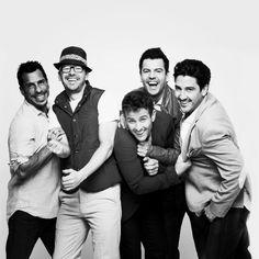 New Kids On The Block #JonathanKnight #JoeyMcIntyre #DonnieWahlberg #DannyWood…