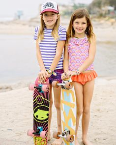 Meet the Kelsay family, a So-Cal living, skateboard and surfing active family of four. Here we interview Calli, the mom and get to know her crew!