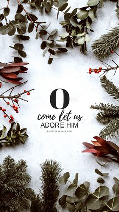 Christmas background - pine, eucalyptus, berries photo by Annie Spratt ( on Unsplash Christmas Scripture, Christmas Quotes, Christmas Pictures, Holly Christmas, Christmas Nails, Christmas Trees, Christmas Crafts, Christmas Decorations, Christmas Phone Wallpaper