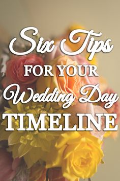 Tips for your Wedding Day Timeline - How to write a Wedding Timeline - Tiffany Heidenthal Photography